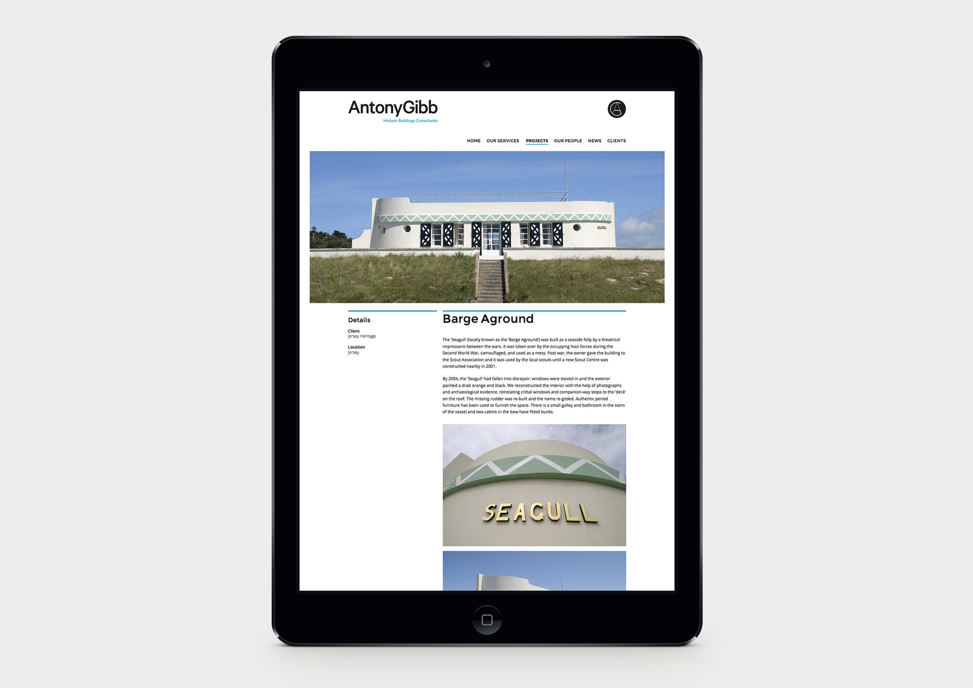 Antony Gibb website