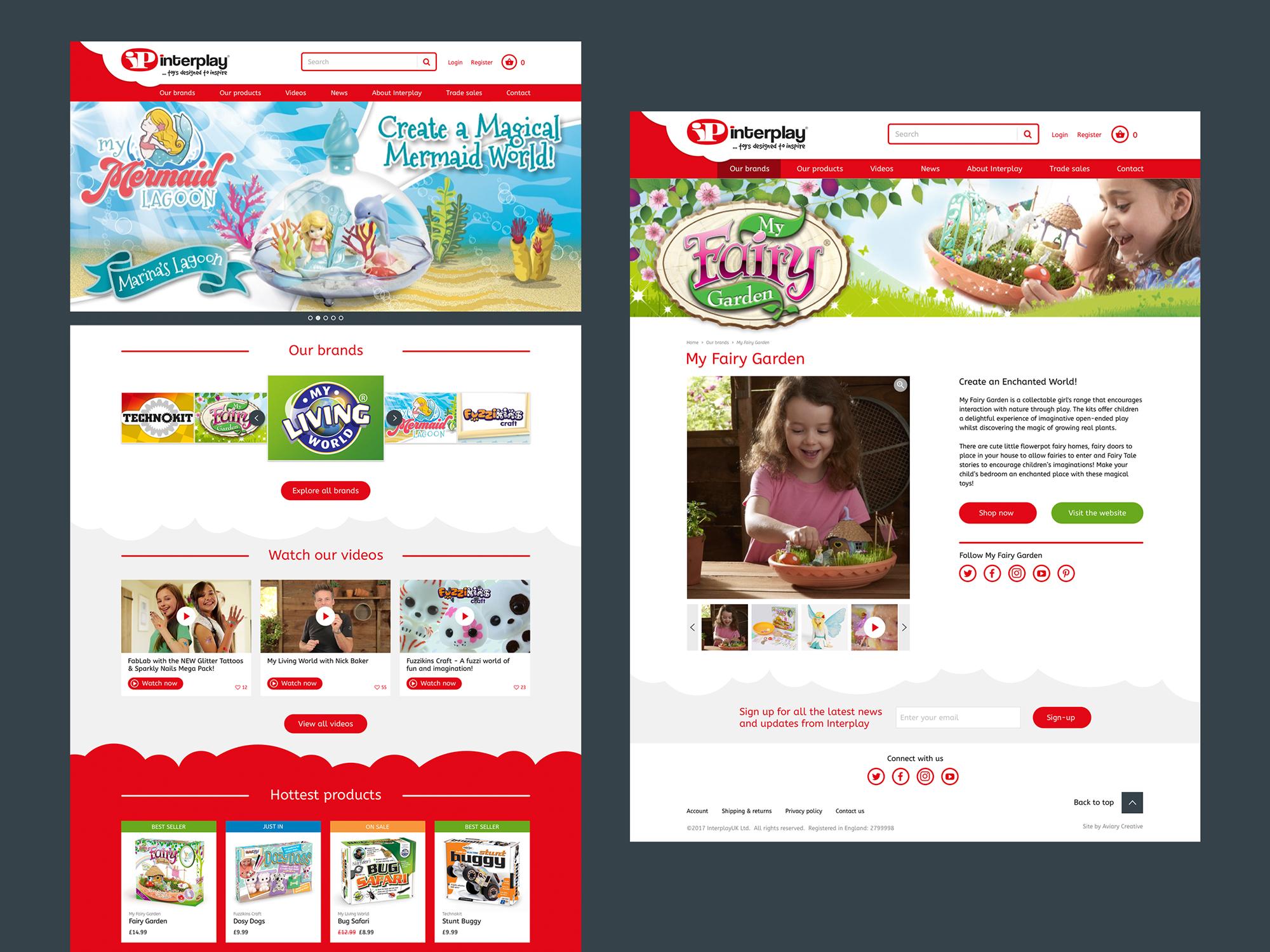 Interplay homepage