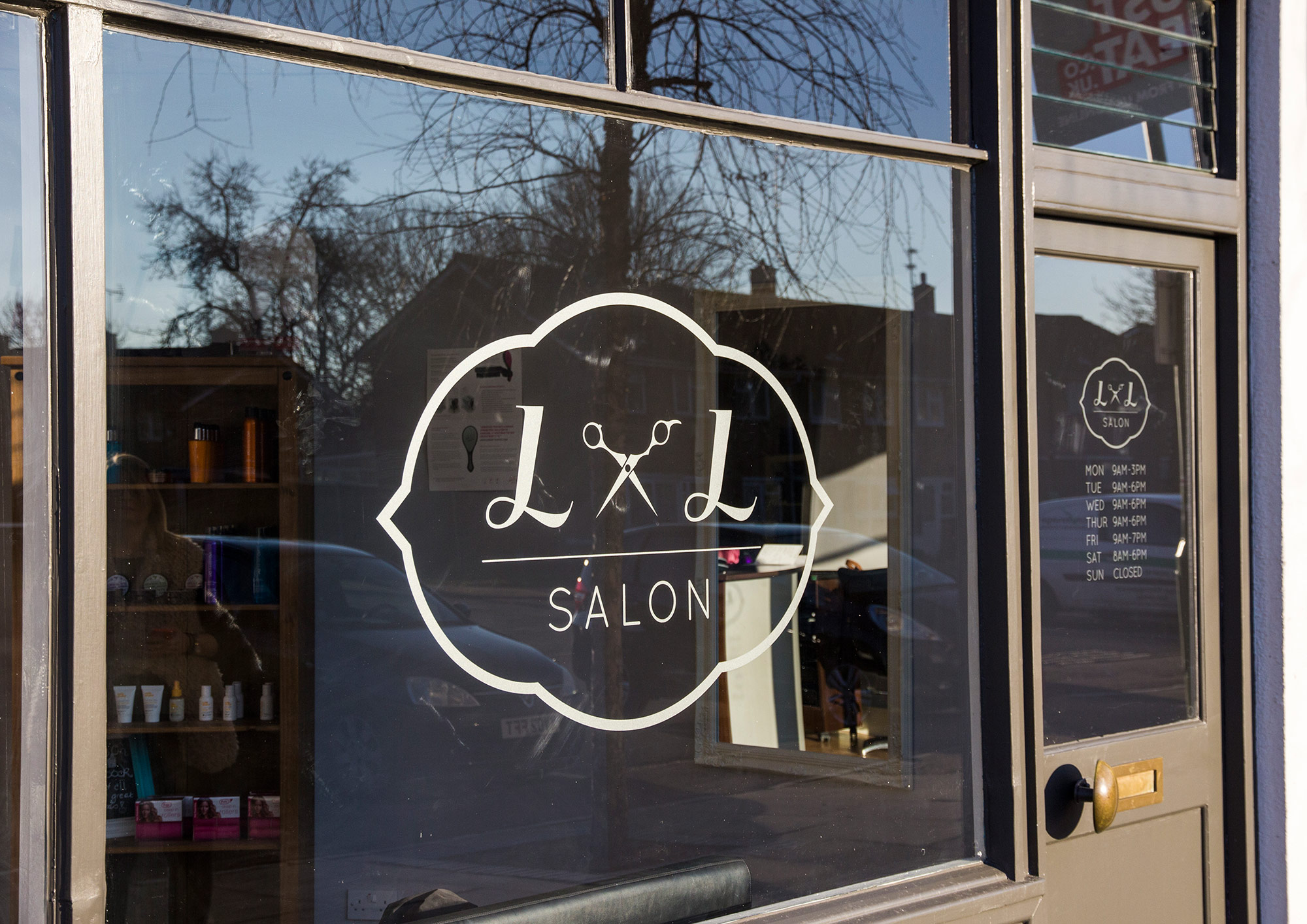 L&L Salon graphics