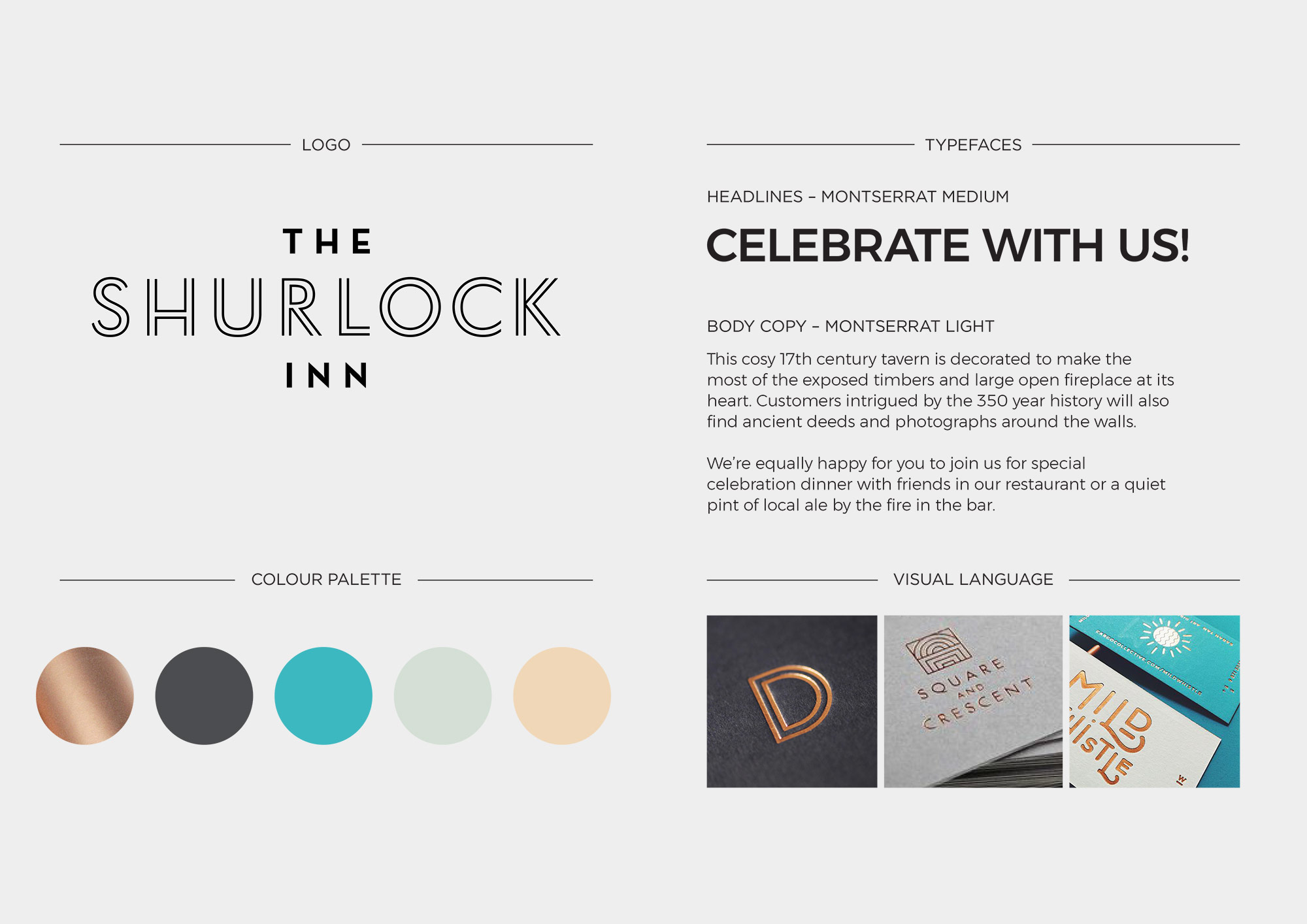 The Shurlock Inn brand assets