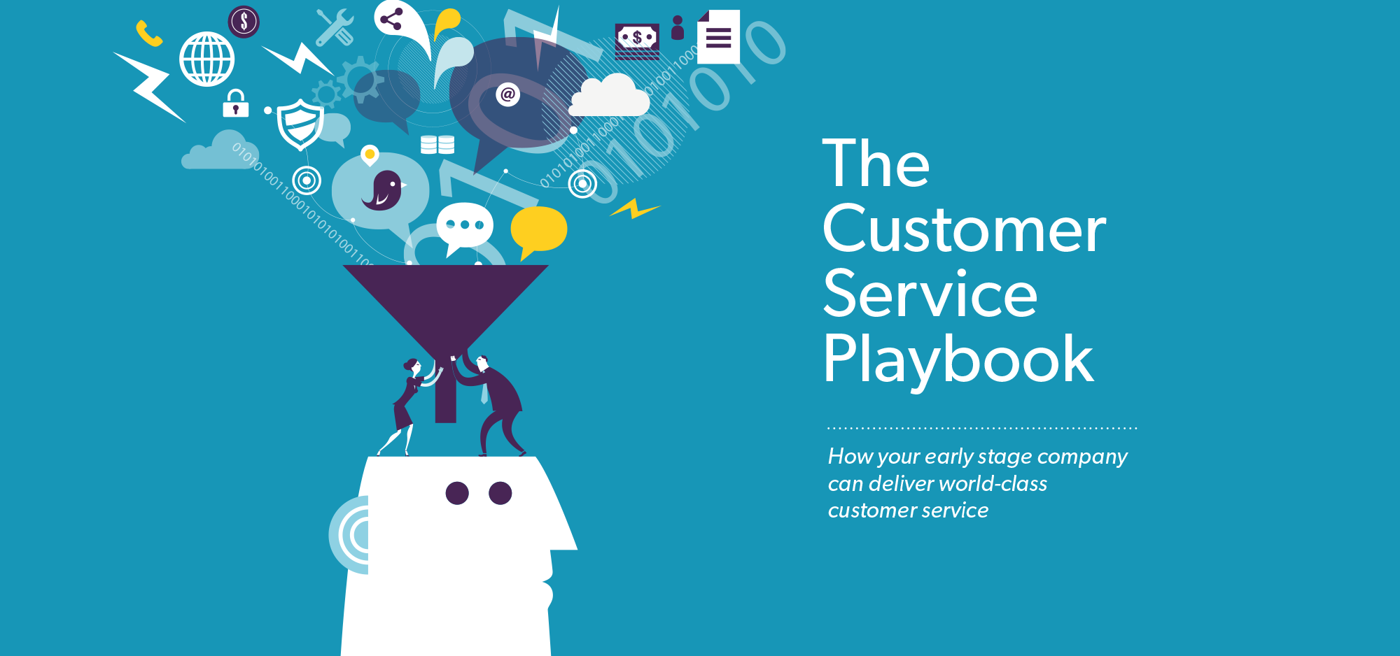 The Customer Service Playbook main banner