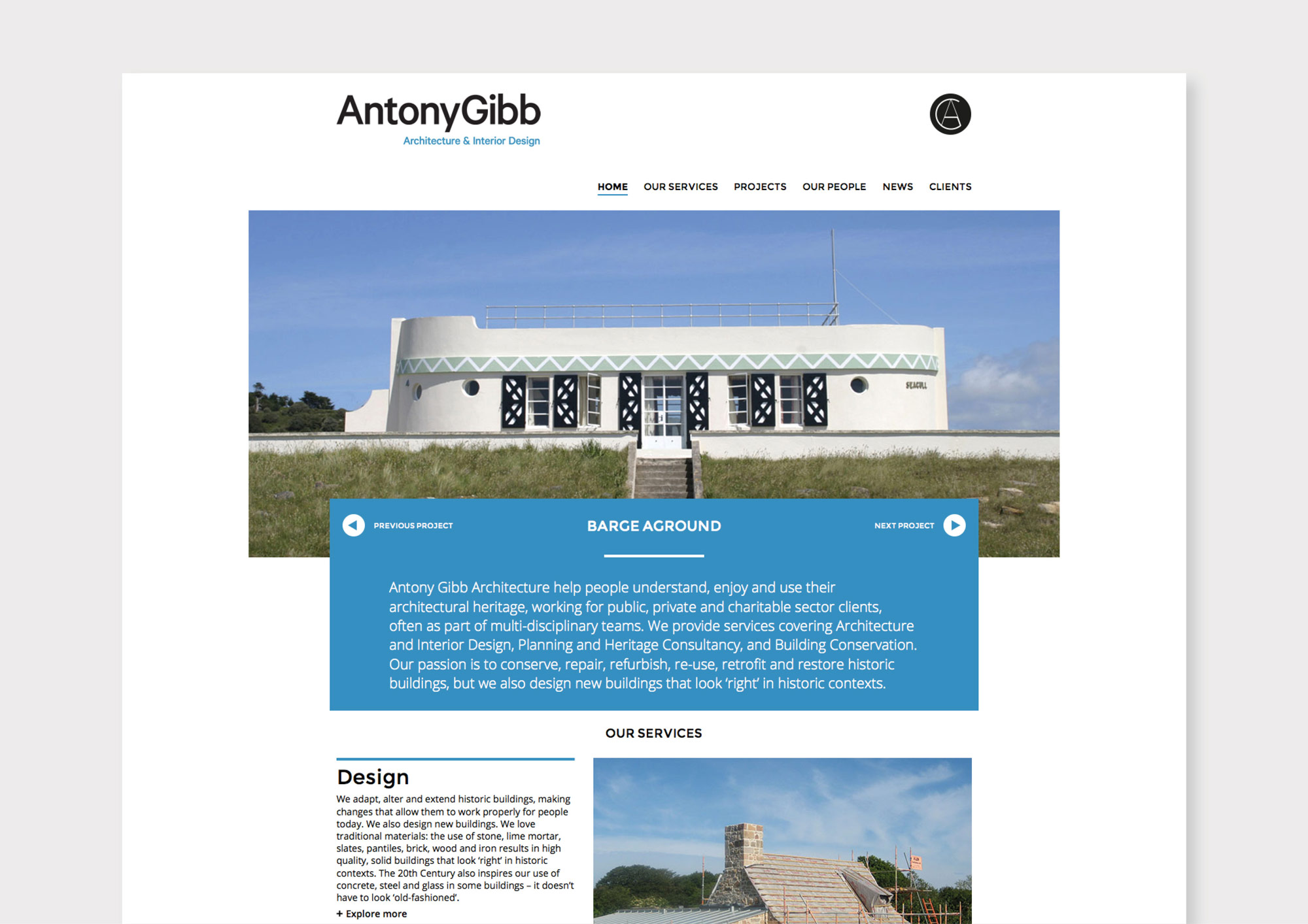 Antony Gibb website