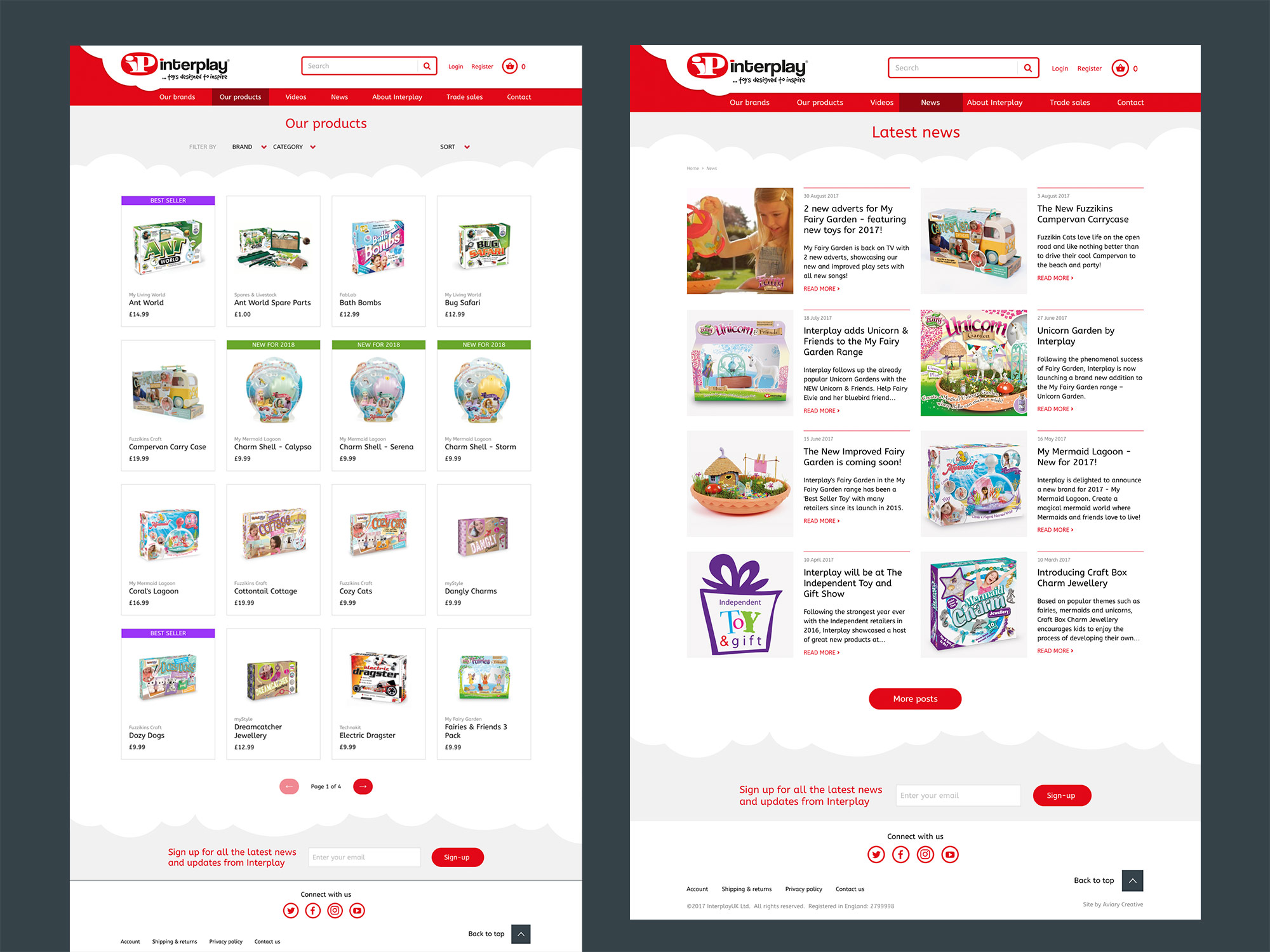 Interplay website
