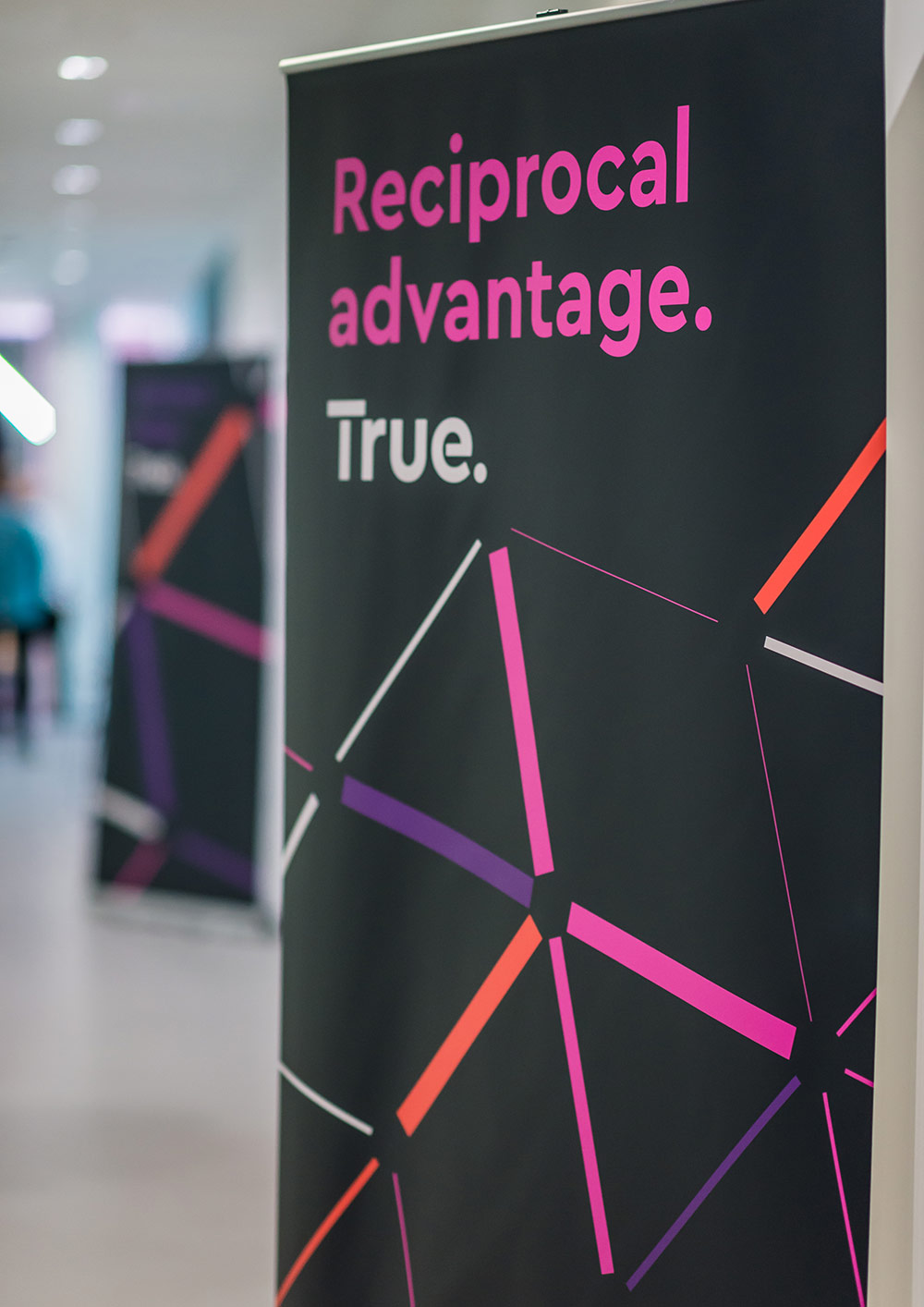 True brand launch banners