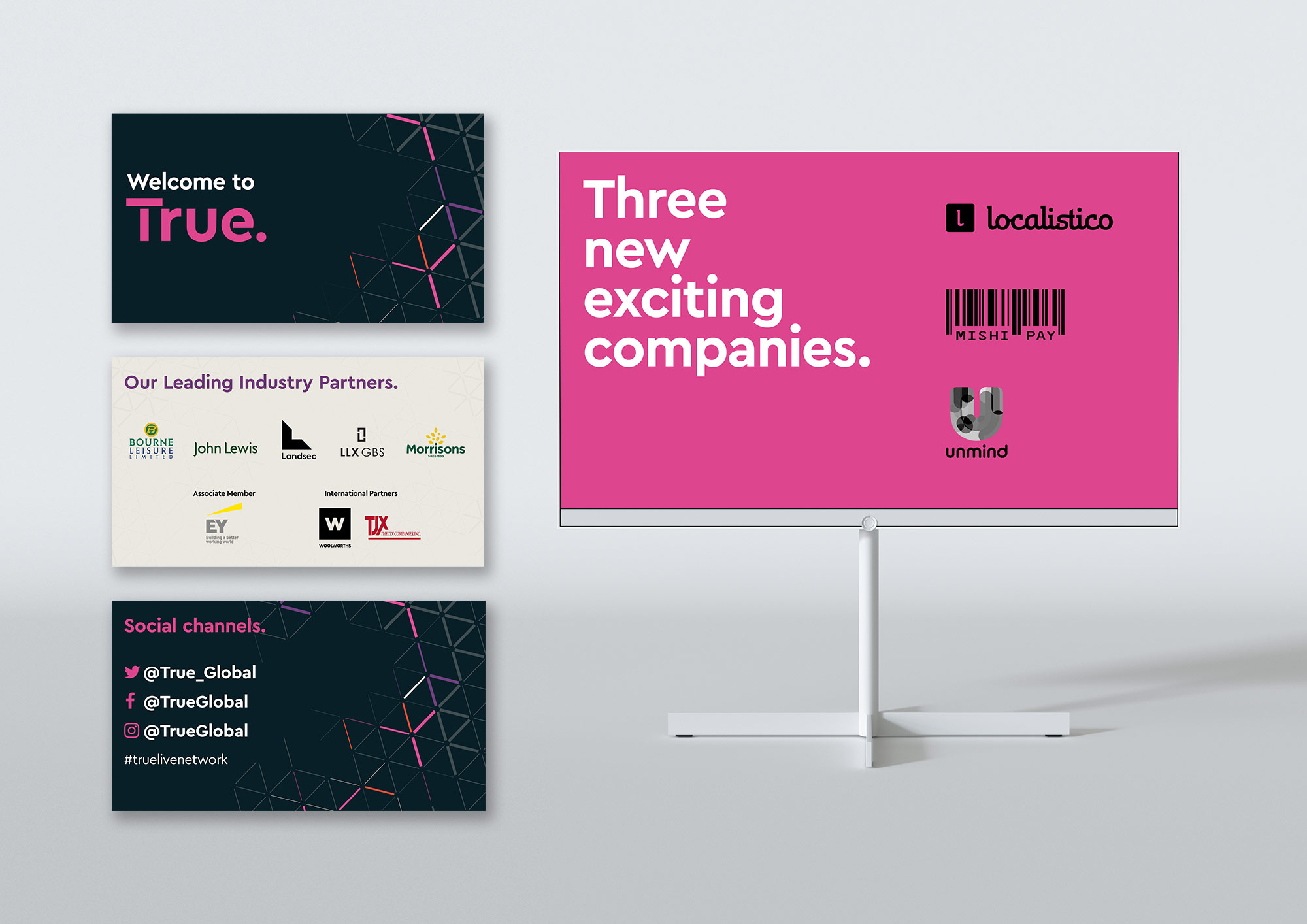 True brand launch presentation