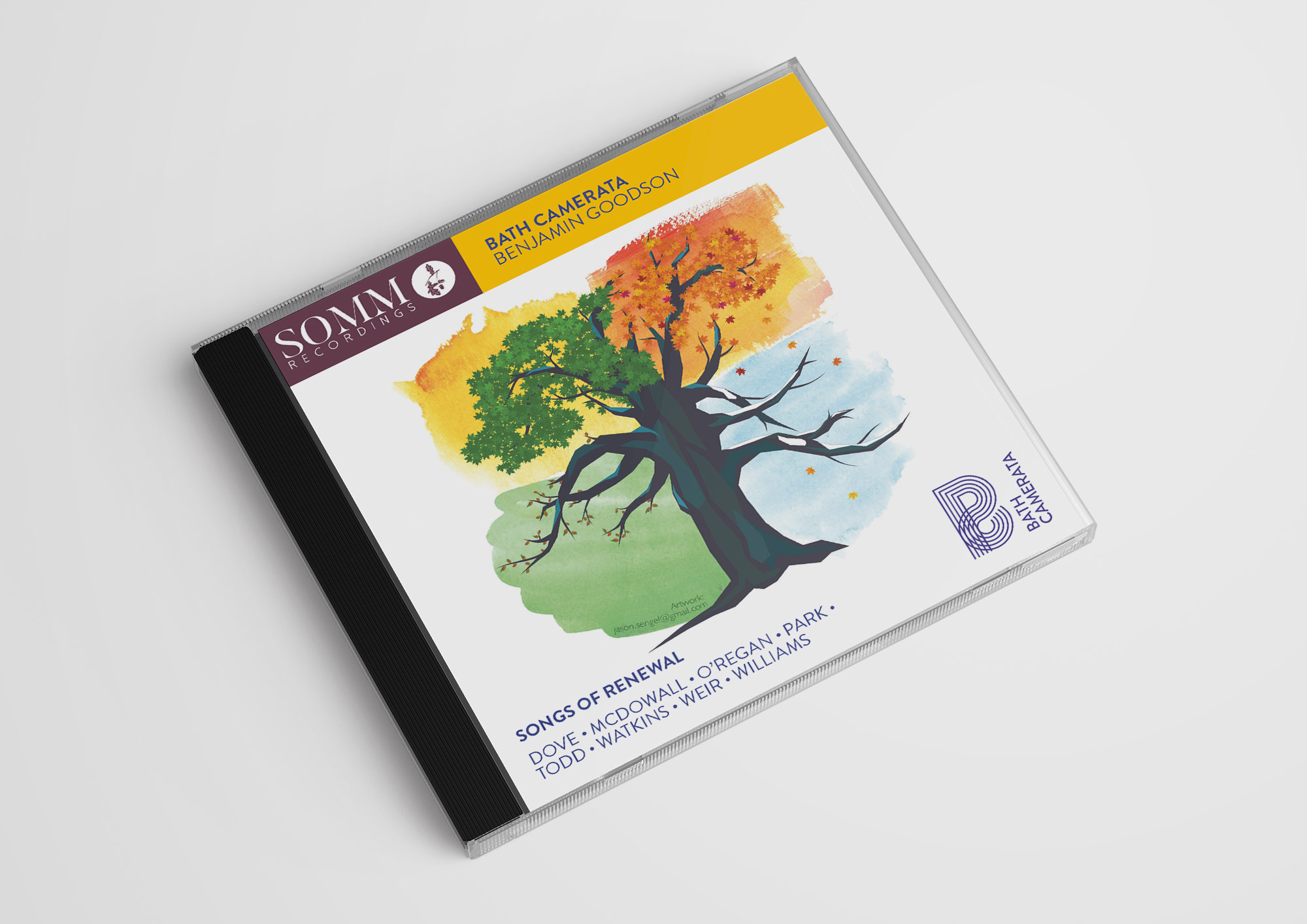 Bath Camerata CD cover