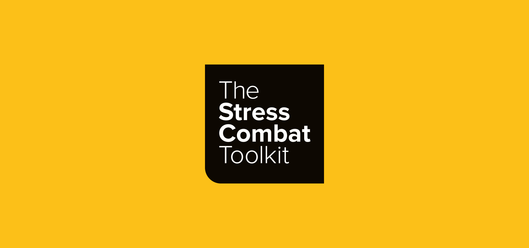 The Stress Combat Toolkit main banner
